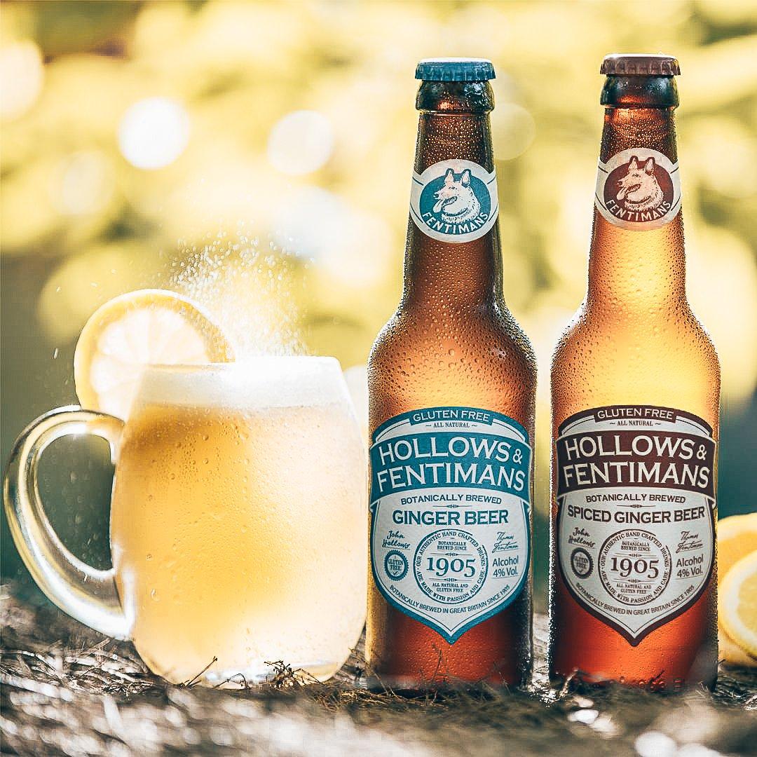 Hollows & Fentimans, Fentimans Ginger beer, Alles over gin.
