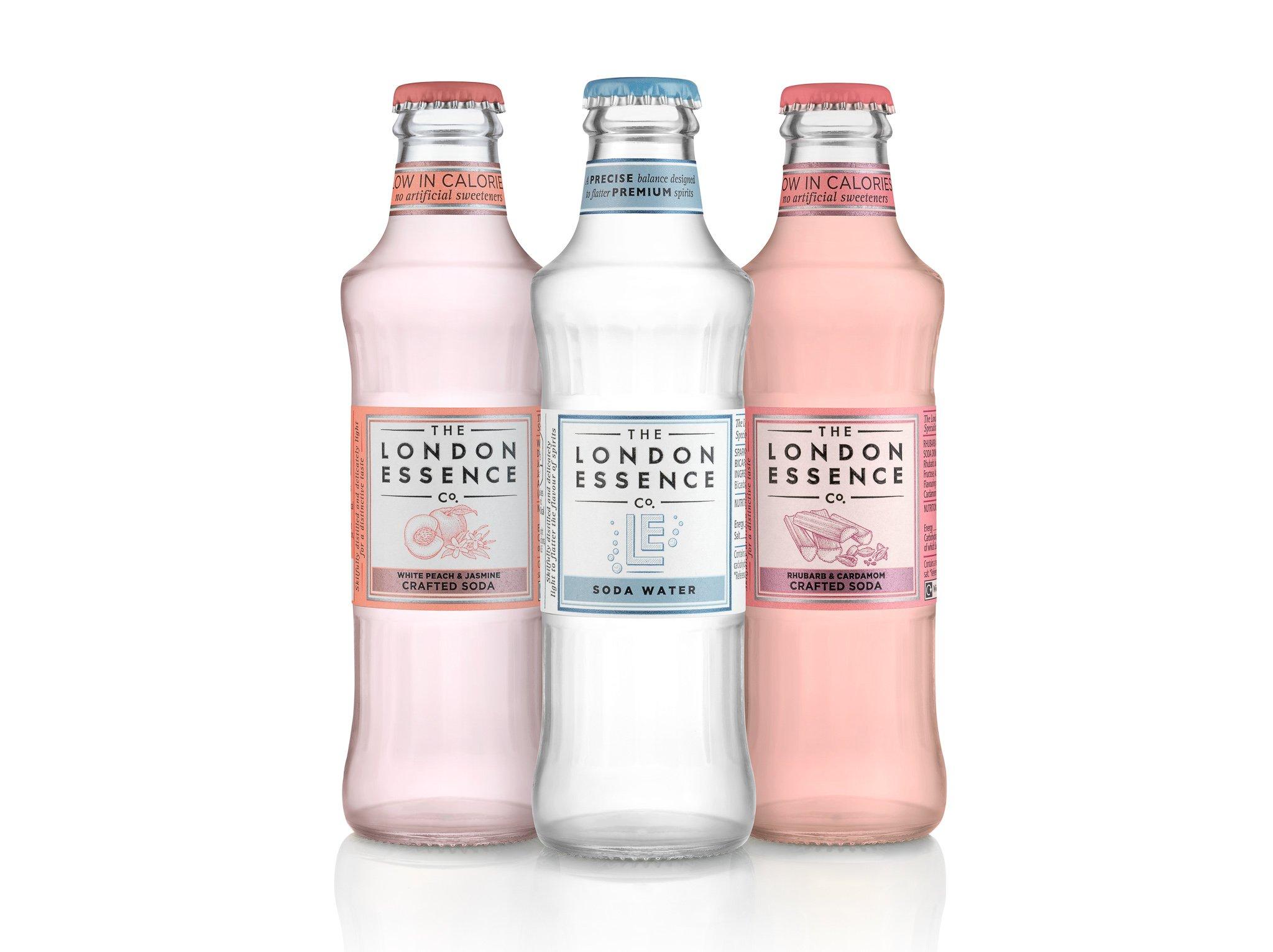 London Essence soda range, Alles over gin.