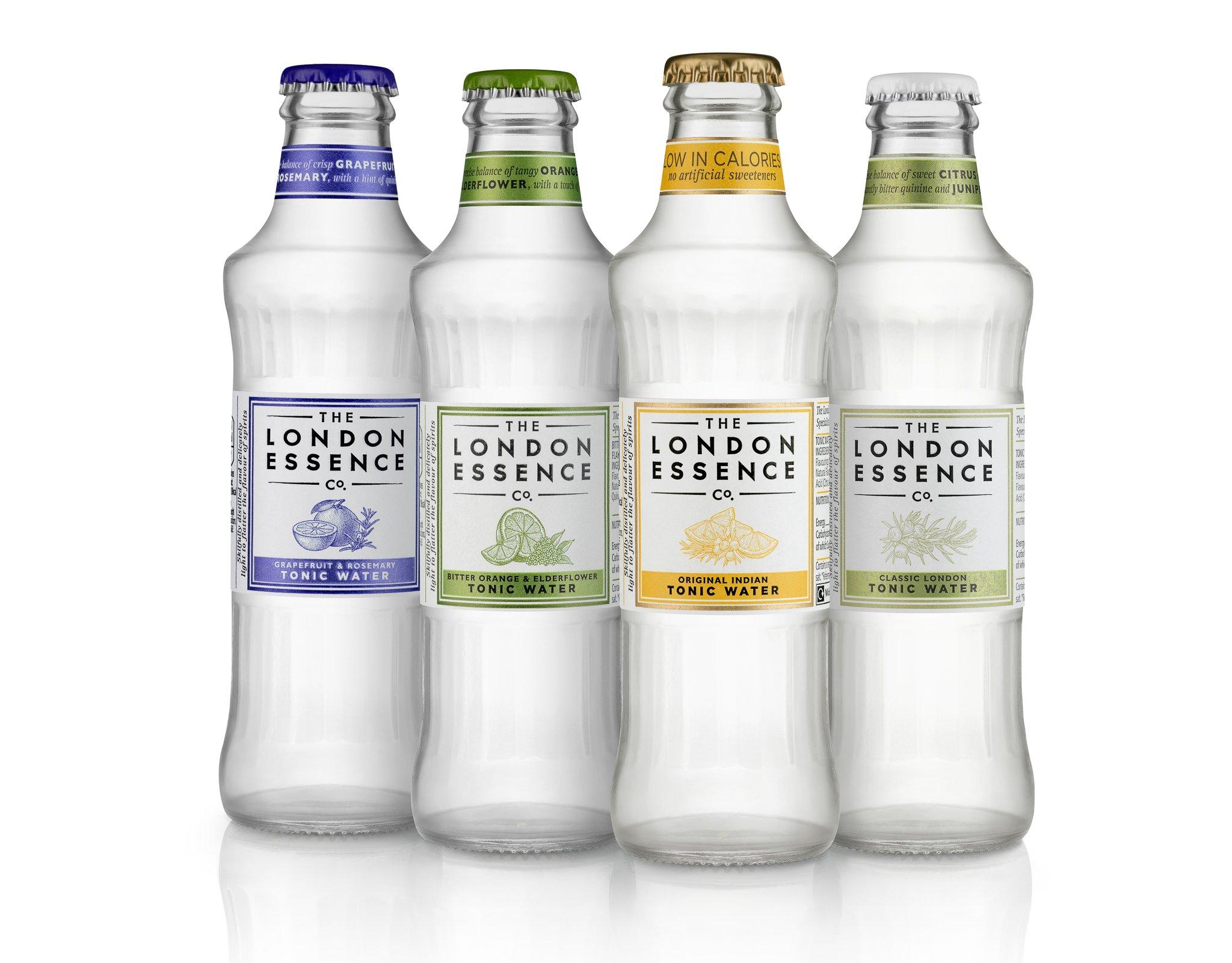 London Essence tonic range, Alles over gin.