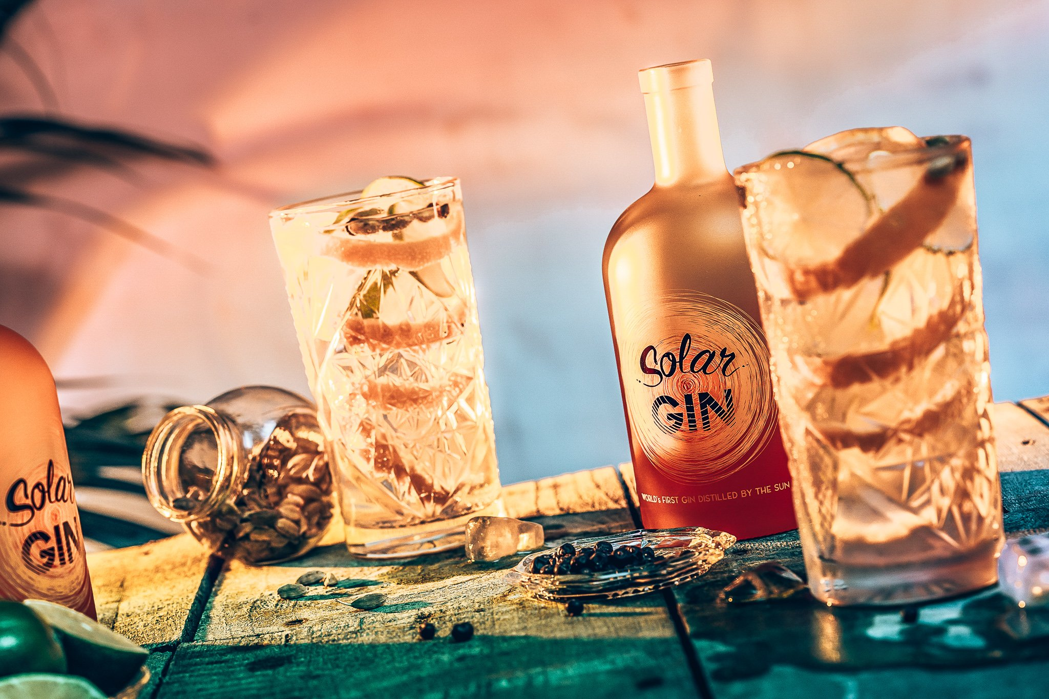 Perfect serve Solar Gin, Alles over gin.