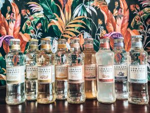 The London Essence Co. mixer, spotlight tonic, Alles over gin.