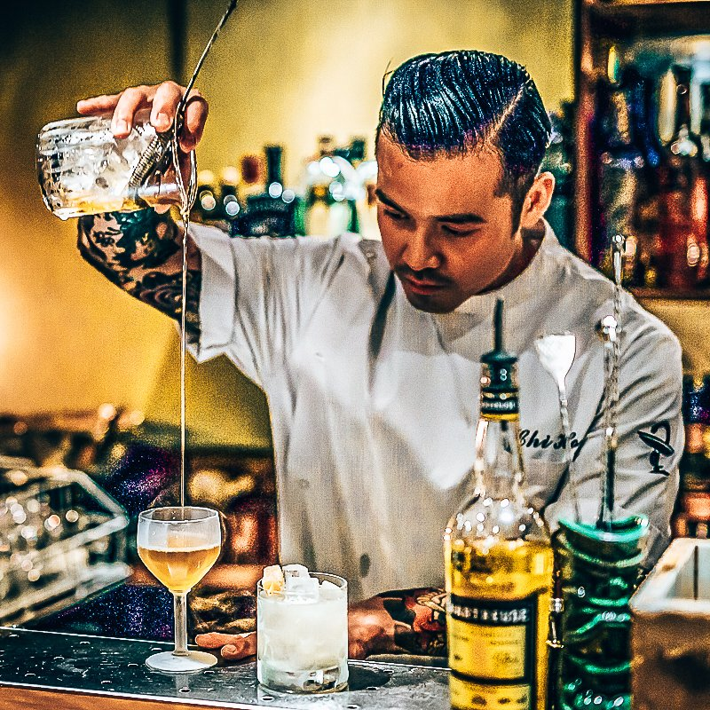 A bartender's story, Chi-ho Ta, Gino van Meenen, Alles over gin.