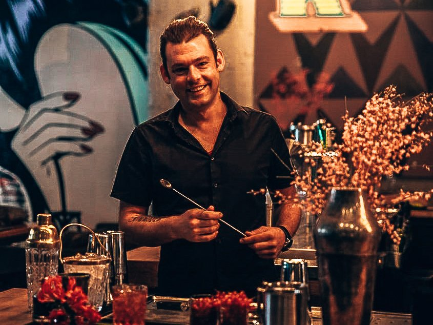 Bartender Rob Rademakers, A bartender's story, Alles over gin.