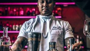 Chi-ho Ta, Dr. Mandoffi, cocktailrecept, mescal, Alles over gin.
