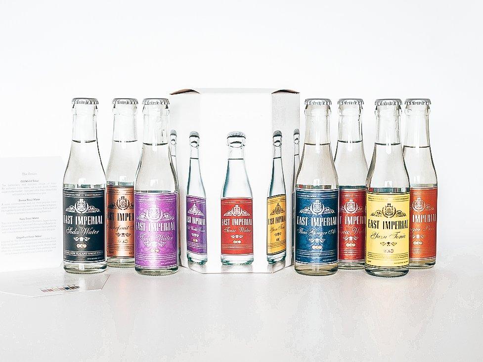 East Imperial range, Spotlight tonic, Alles over gin.