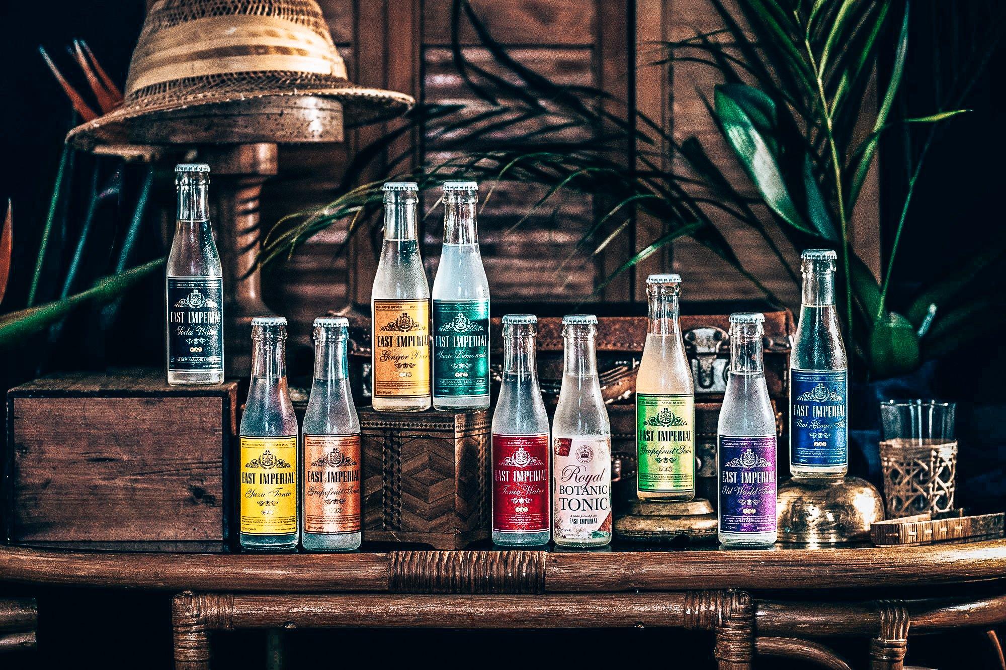 East Imperial tonics en premium mixers range, Alles over gin.
