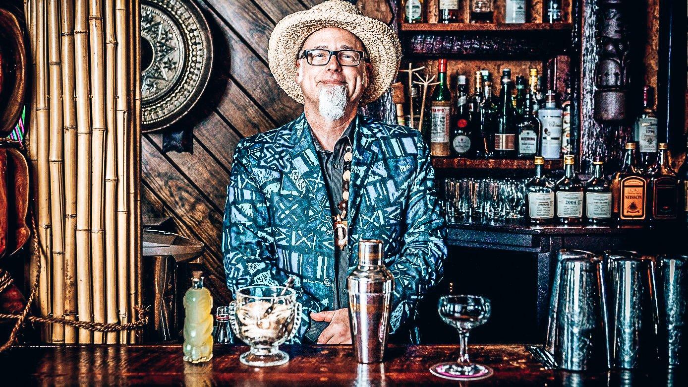 Jeff Beach Bum Berry, Grondlegger van Tiki cocktails en bars, Rob Rademaker, Alles over gin.