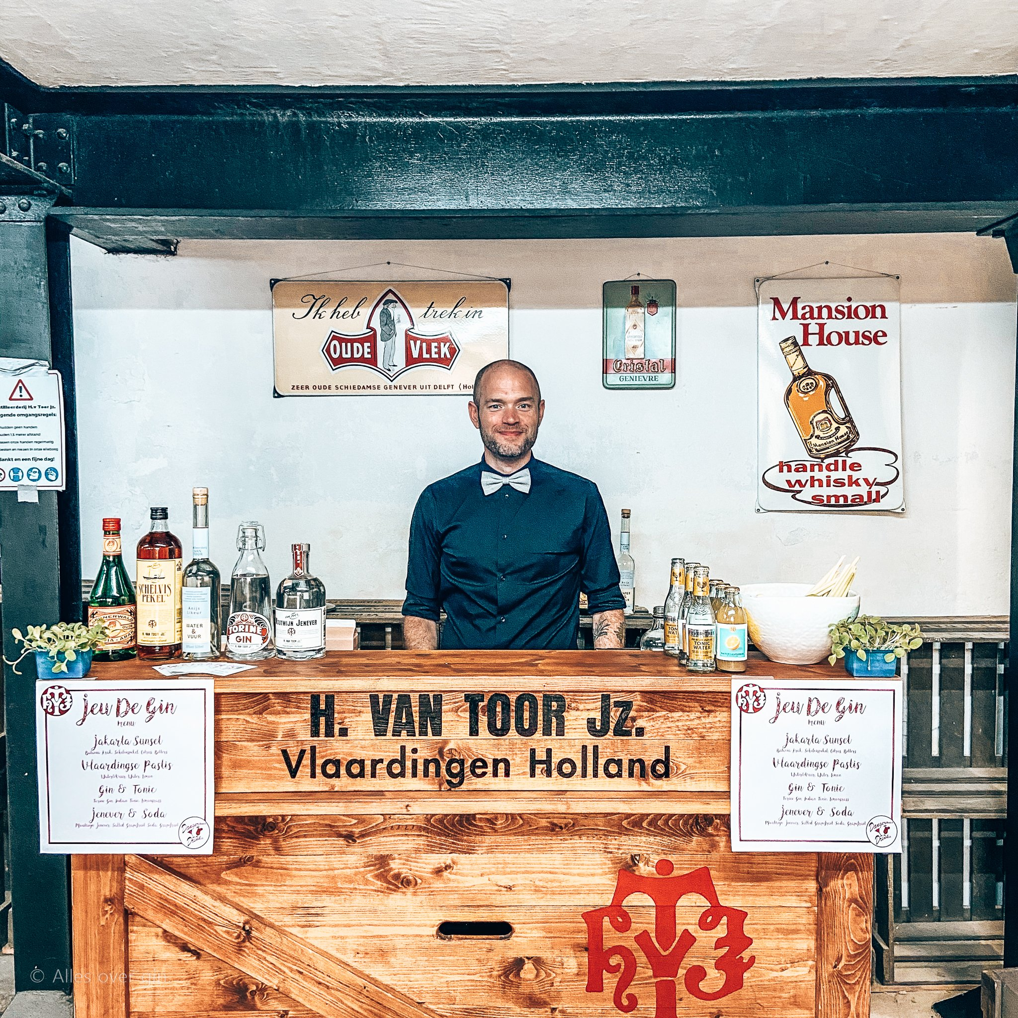 JeuDeGin in Vlaardigen, Distilleerderij Van Toor, Alles over gin.