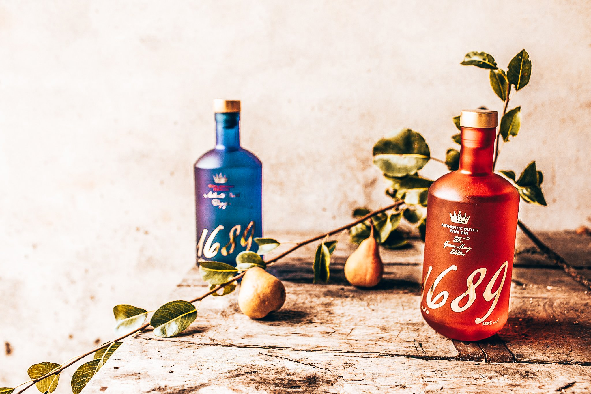 De gins van Gin 1689, Pink Gin, London Dry Gin, Alles over gin.