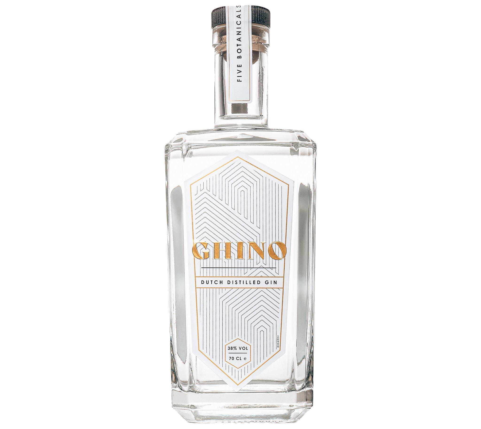 Gin fles van Ghino Gin, Alles over gin.