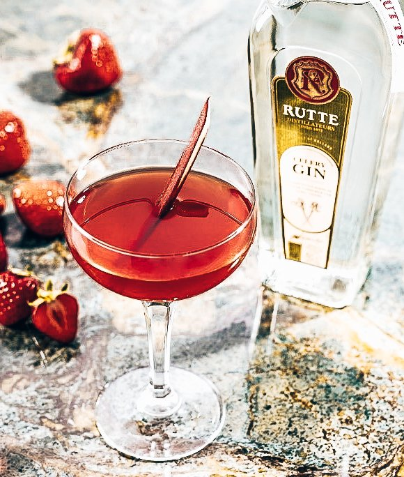Rutte cocktails, Rutte's Dutch Loveletter, Distilleerderij Rutte, Alles over gin.