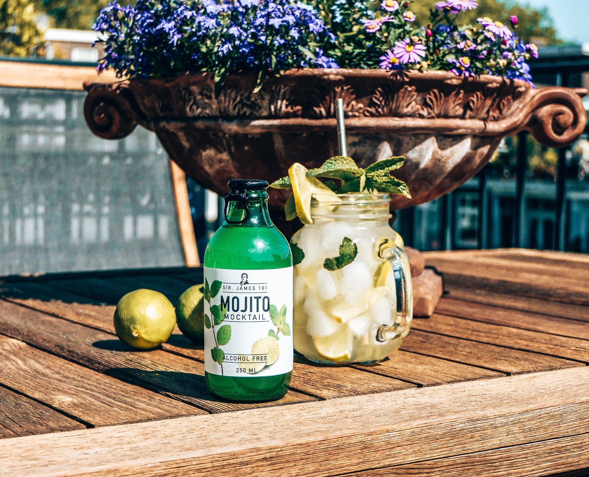 Sir. James Mojito Mocktail, Alles over gin.