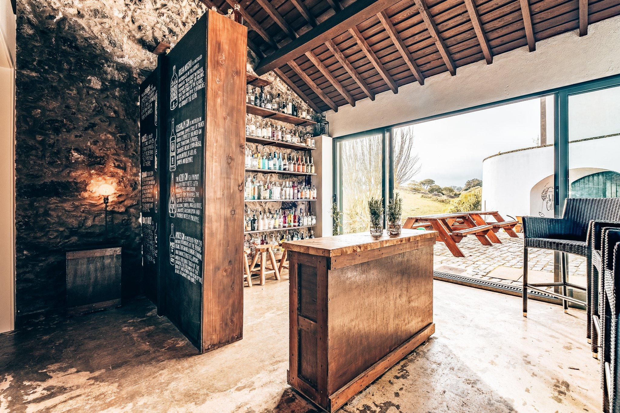 Gin collectie van Solar Branco Eco Estate, Azoren, Alles over gin.