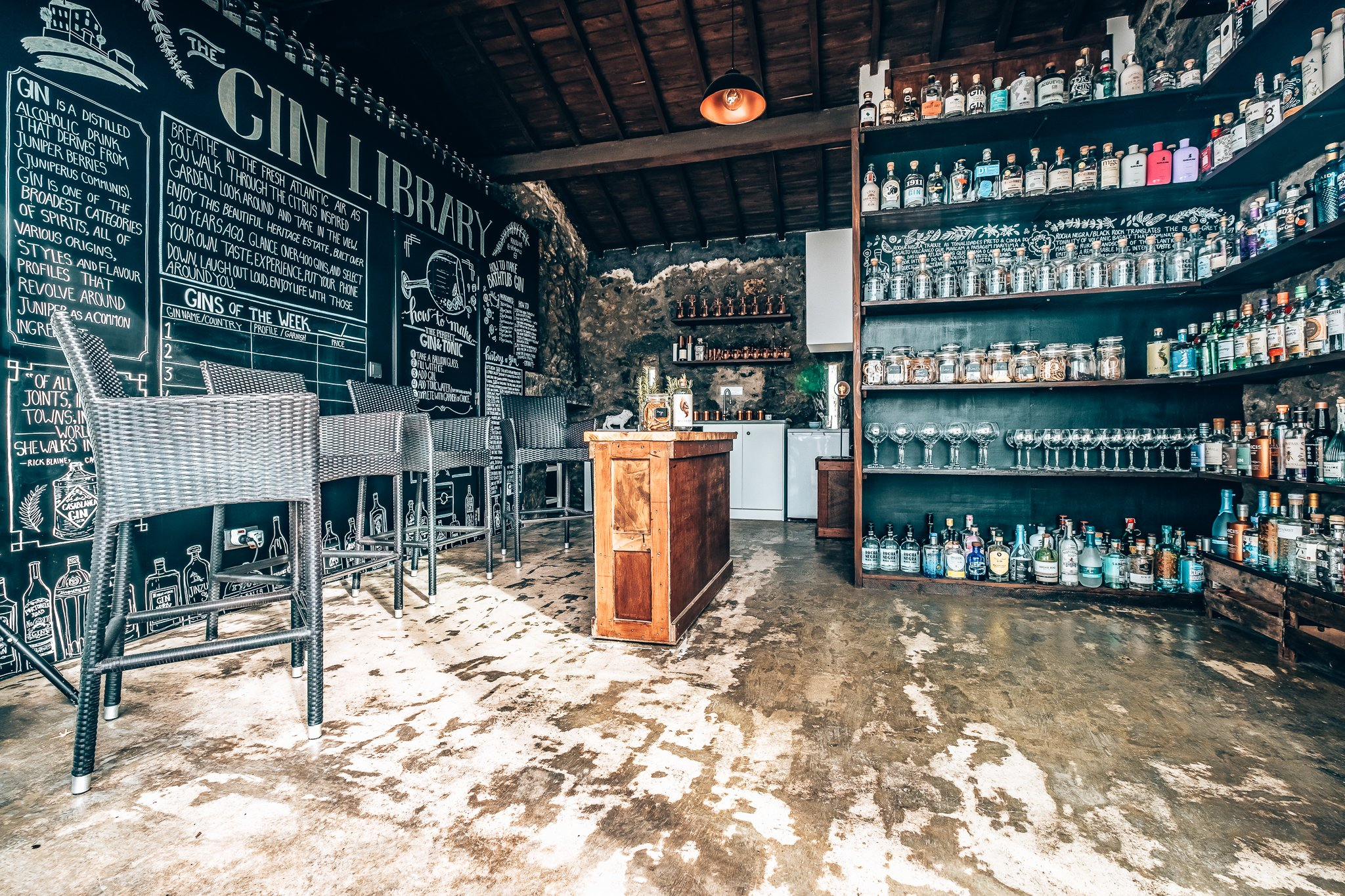 Prive gincollectie Solar Branco Eco Estate, Azoren, Alles over gin.