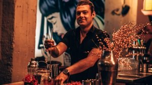 Rob Rademaker, perfect serve Caprese Liquide, Alles over gin.