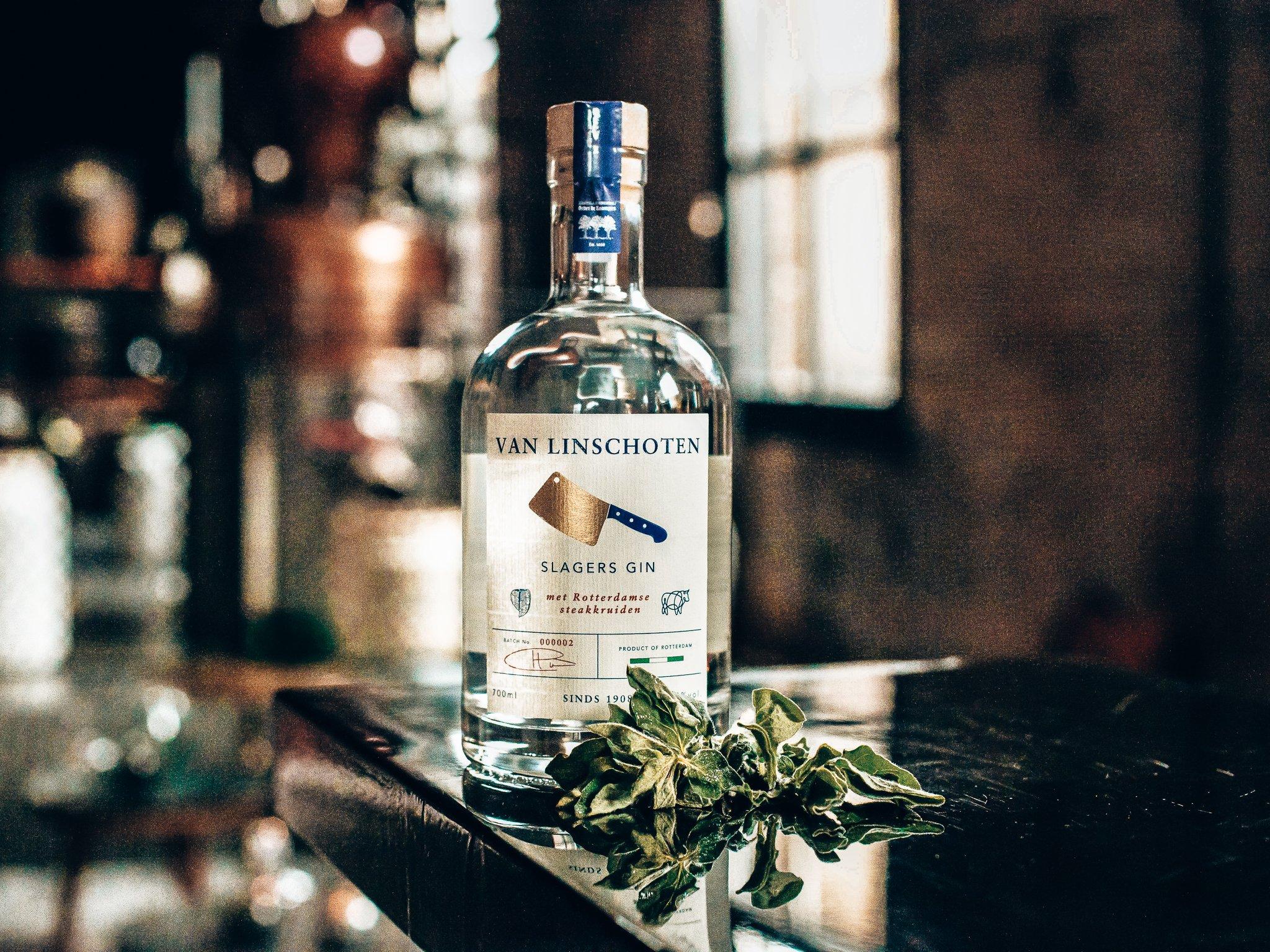 Slagers Gin uit Rotterdam uitgelicht, Alles over gin.,
