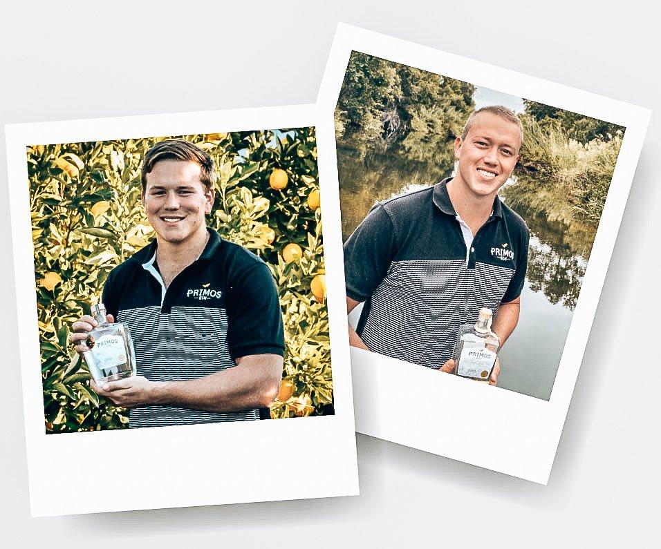 Marnus en Rossouw Kruger, Founders Primos Gin, Alles over gin.