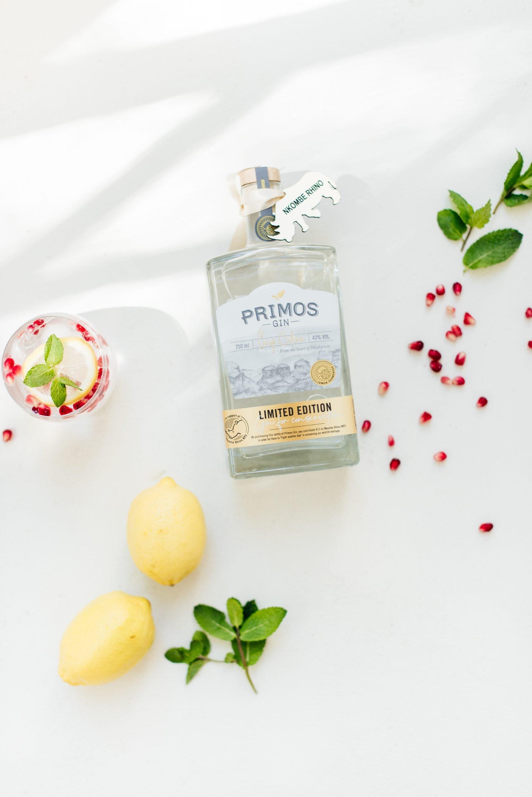 Primos Gin Citron Crisp, Primos Gin, Alles over gin.