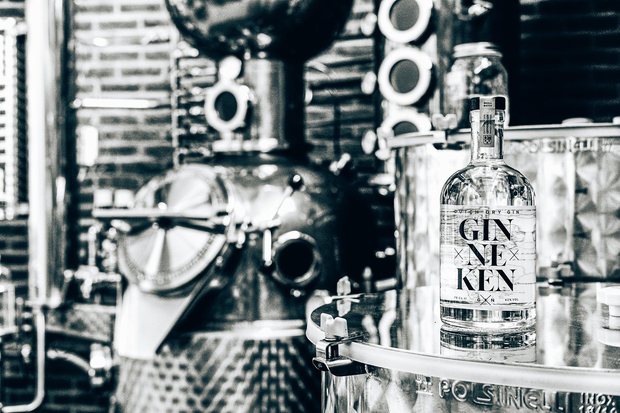 De Bottle Distillery, Ginneken Gin, Alles over gin.