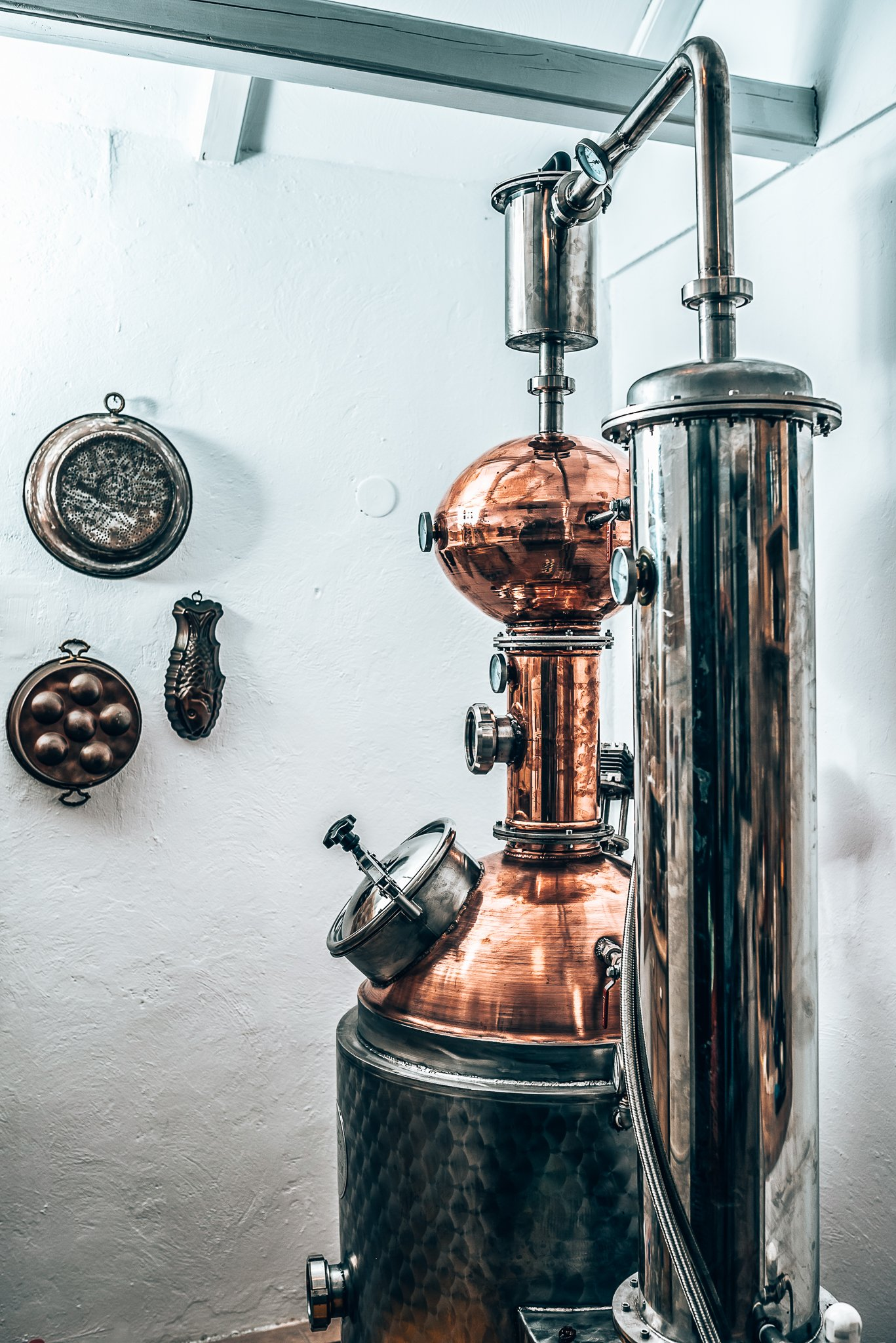 Distilleerketel Salty Stone Gin Distillery, Pop Stone Gin, Alles over gin.
