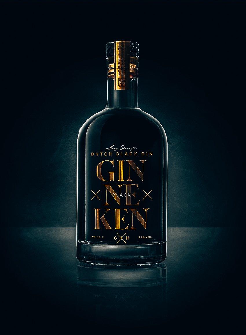 Ginneken Black Gin, Alles over gin.