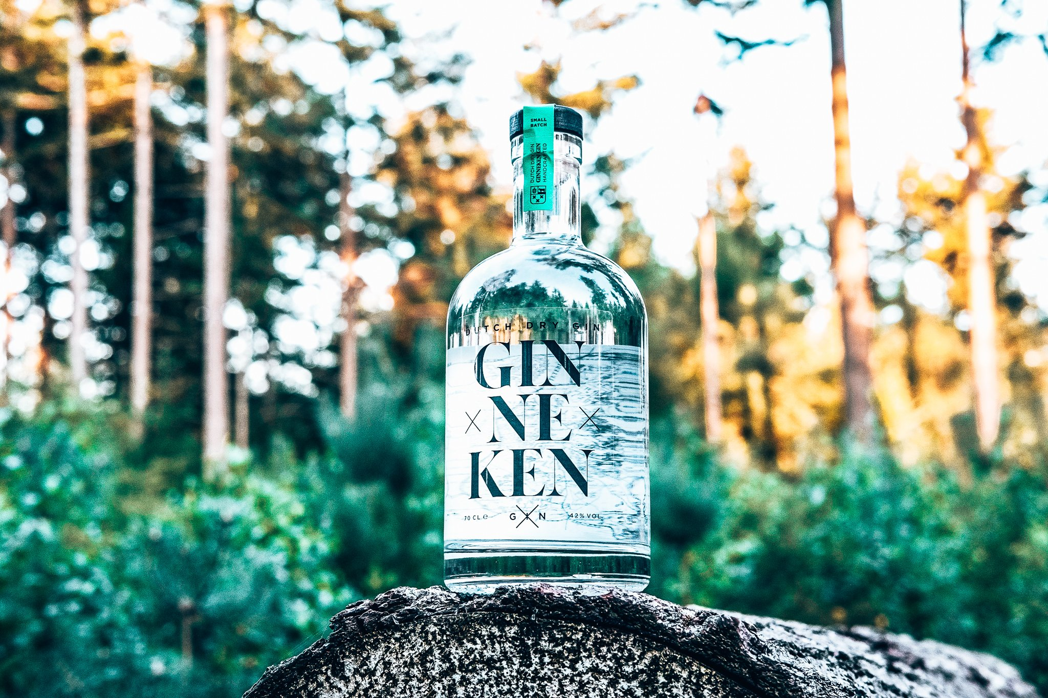 Ginneken Gin in het Mastbos, Alles over gin.