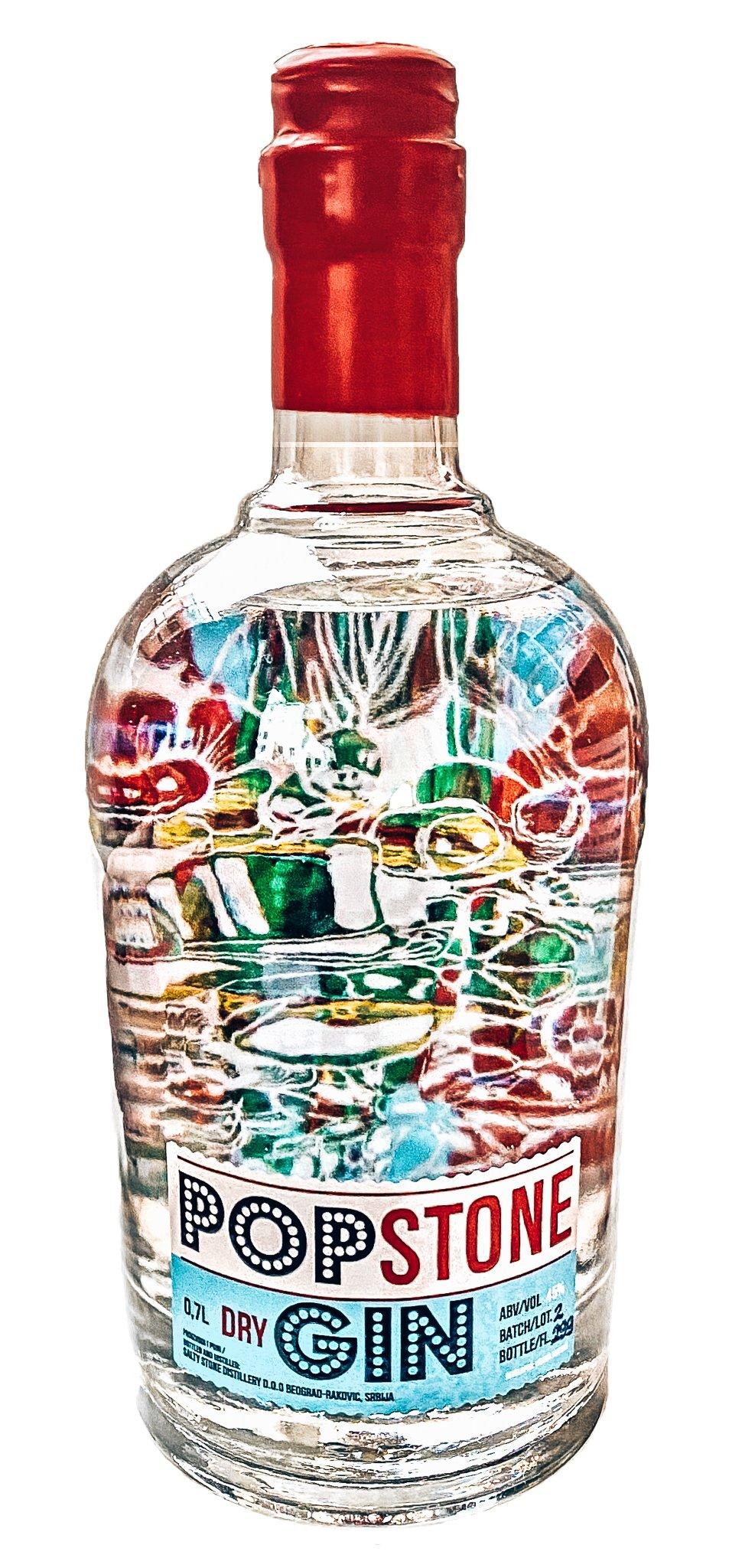 Het verhaal achter de fles, Pop Stone Gin, Alles over gin.