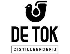 Logo De Tok Distilleerderij, Alles over gin.