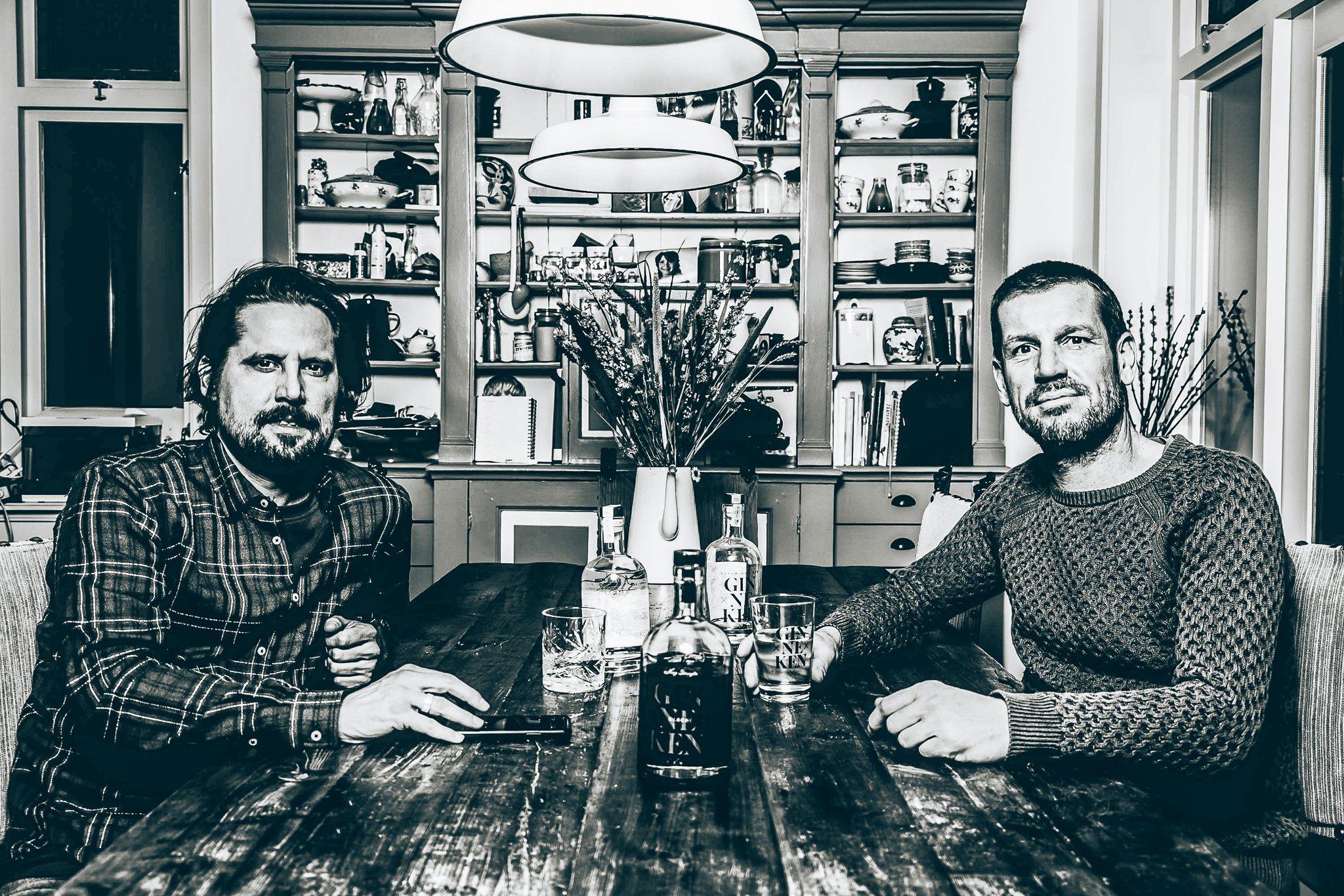 Reijer en Tom, Founders van Ginneken Gin, Alles over gin.