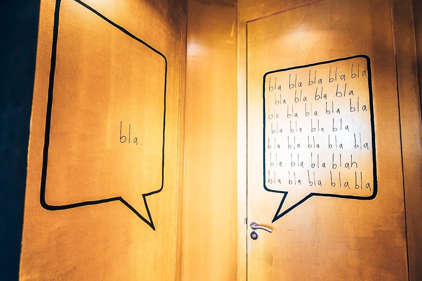 Toilet design, Taberna Pikoteo, Alles over gin.