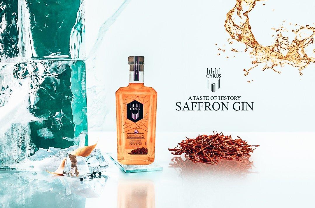 Cyrus Saffron Gin, het verhaal achter deze gin, Alles over gin.