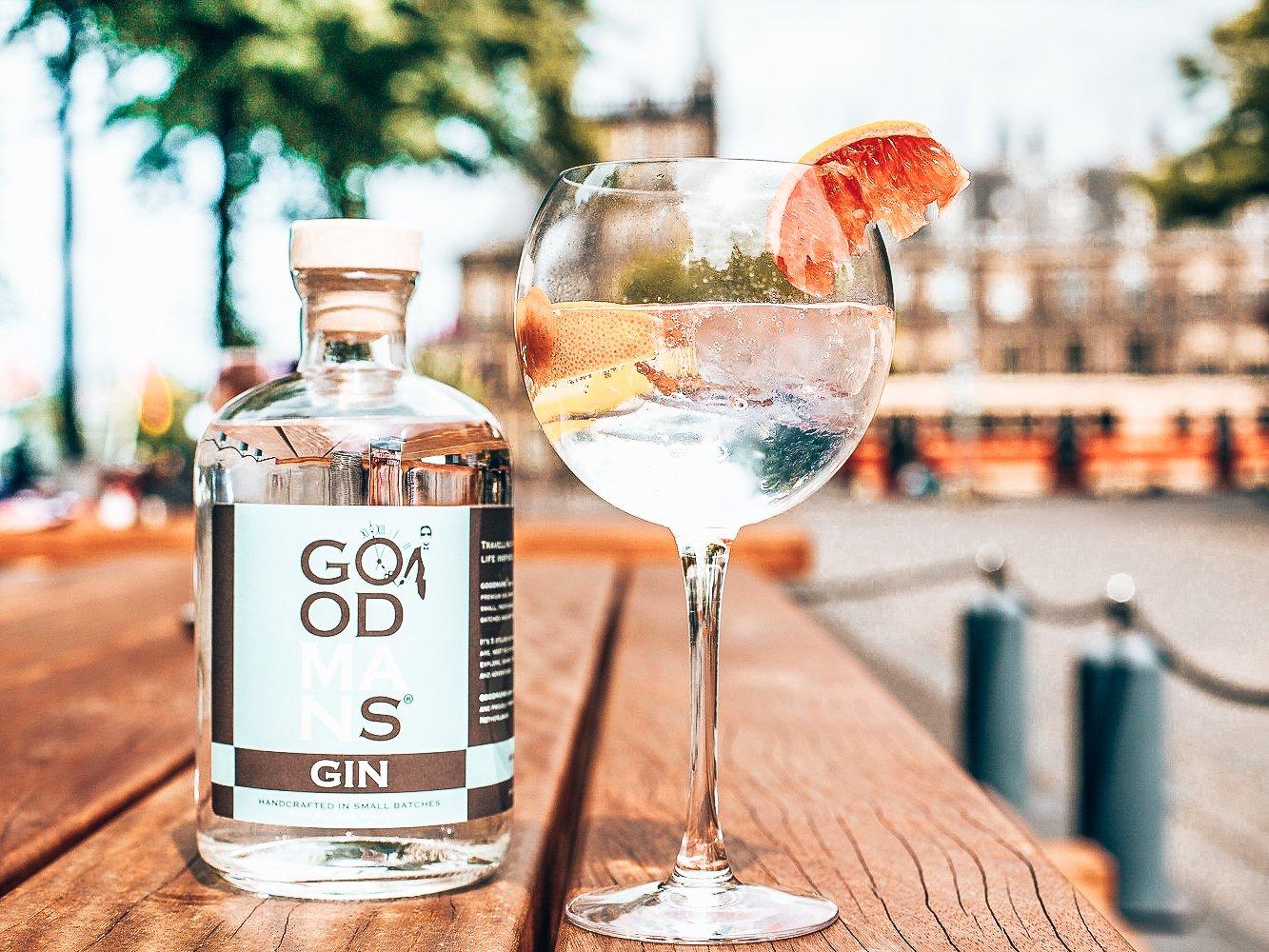 Goodmans Gin, het verhaal achter de fles, Alles over gin.