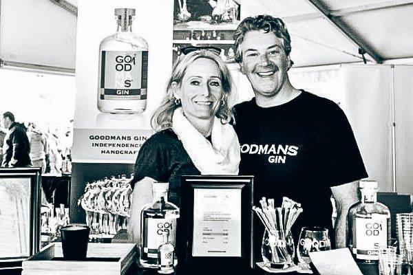 Paul & Gerda, founders Goodmans Gin, Alles over gin.