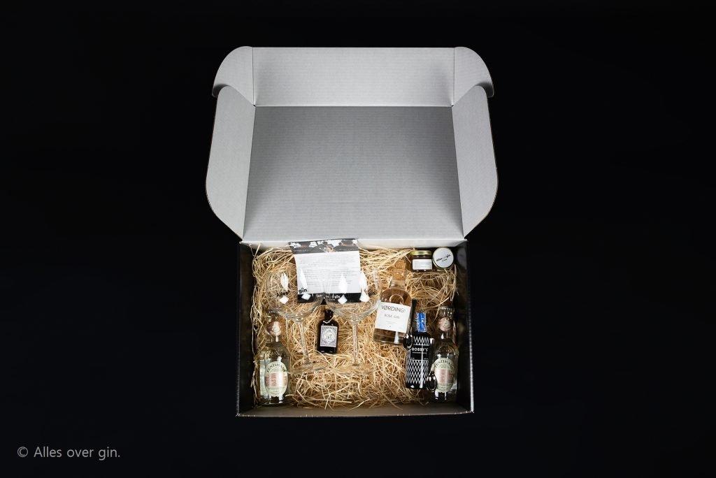 VerGINdingsbox special voor Sourcewell, Amsterdam, Alles over gin.