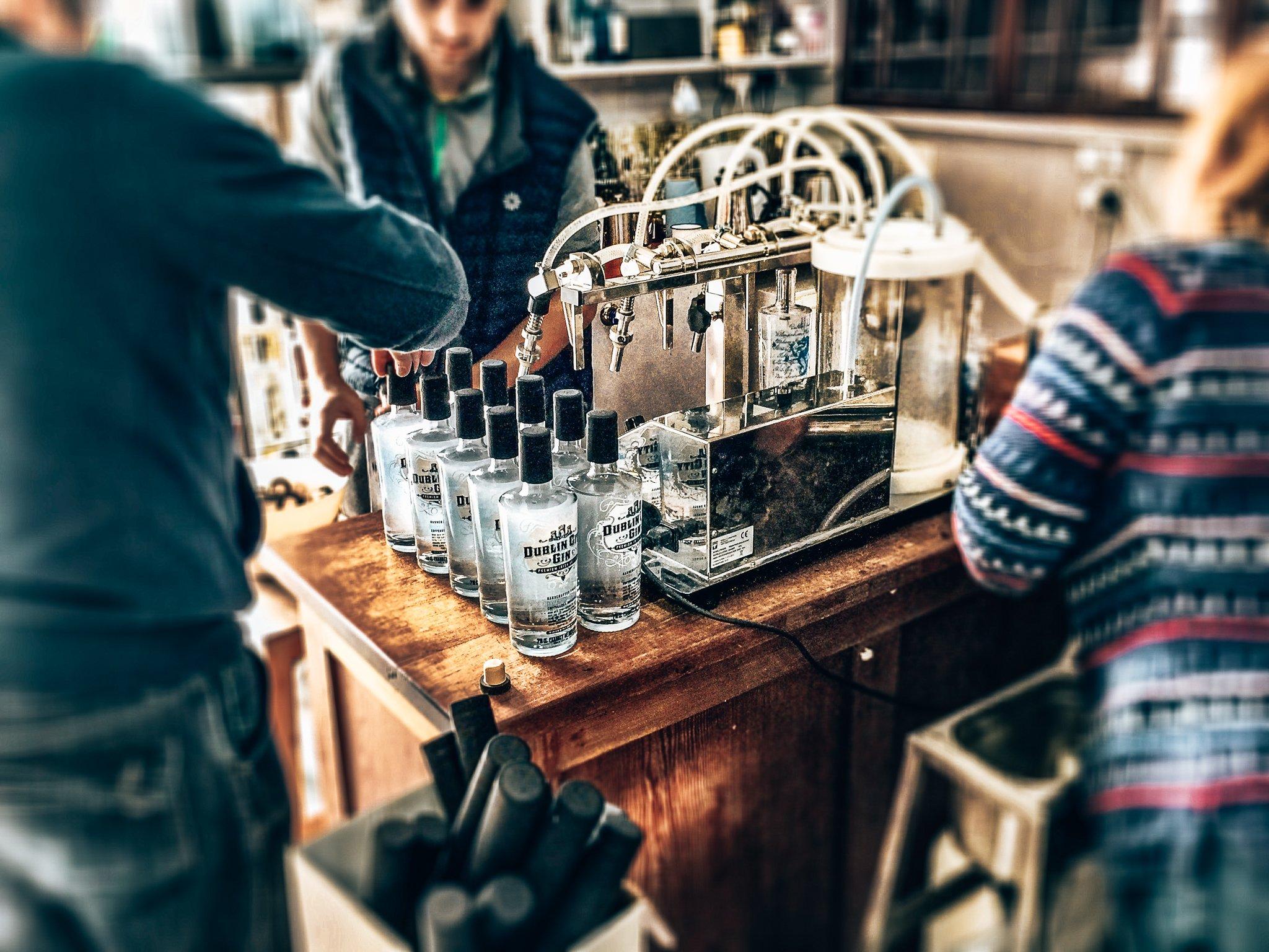 Flessen vullen, Dublin City Gin, Alles over gin.