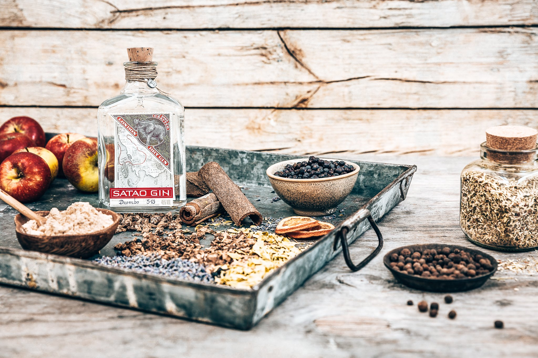 Satao Gin met botanicals, Alles over gin.