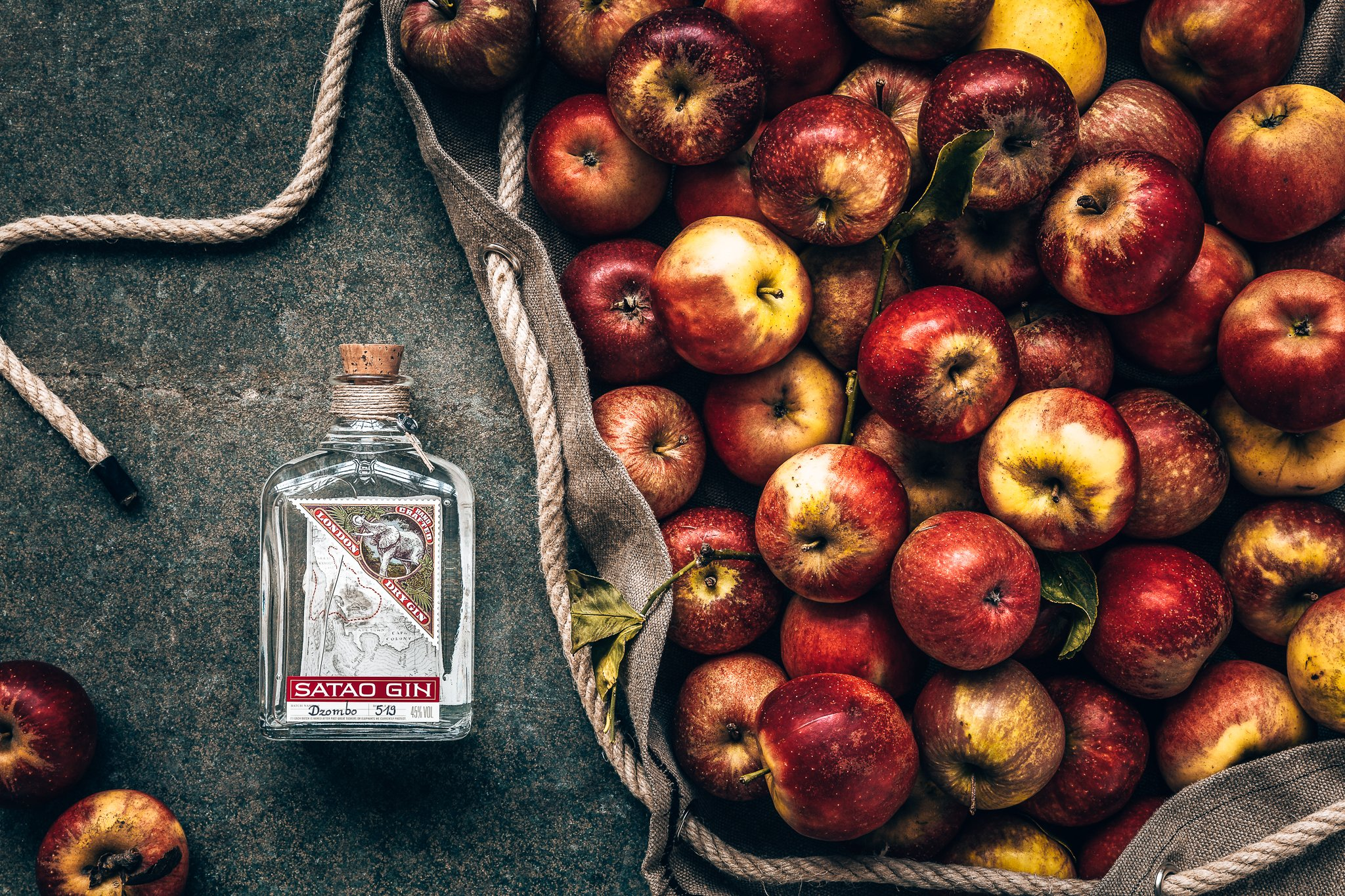 Satao gin, appels, Alles over gin.