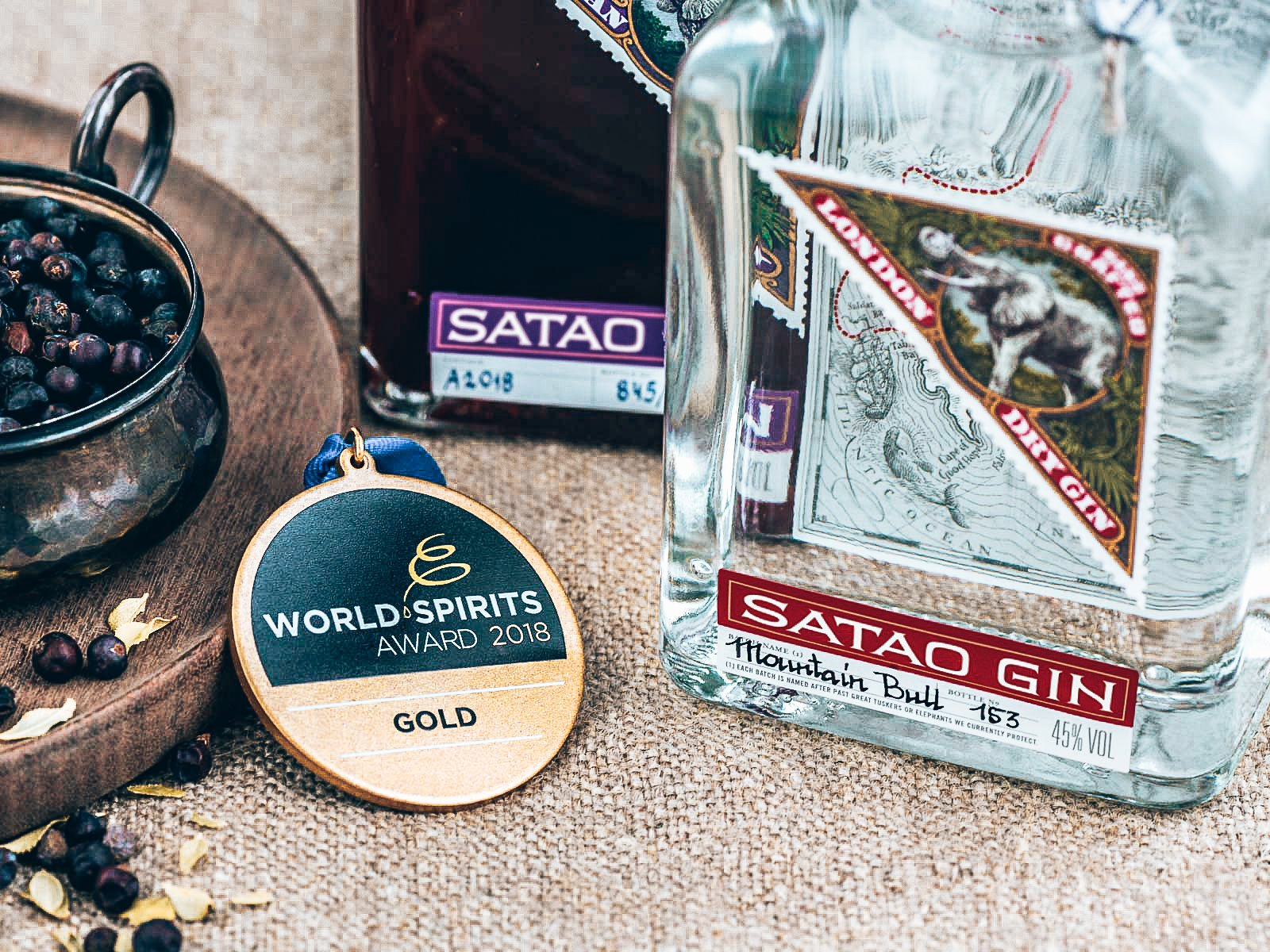 Word Spirit Awards, Satao Gin, Alles over gin.