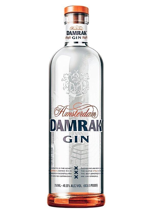Damrak Gin, Lucas Bols, Alles over gin.
