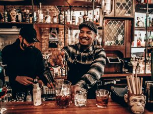 Daryl Lieuw-On, A bartender's story, The Rumah, Alles over gin.