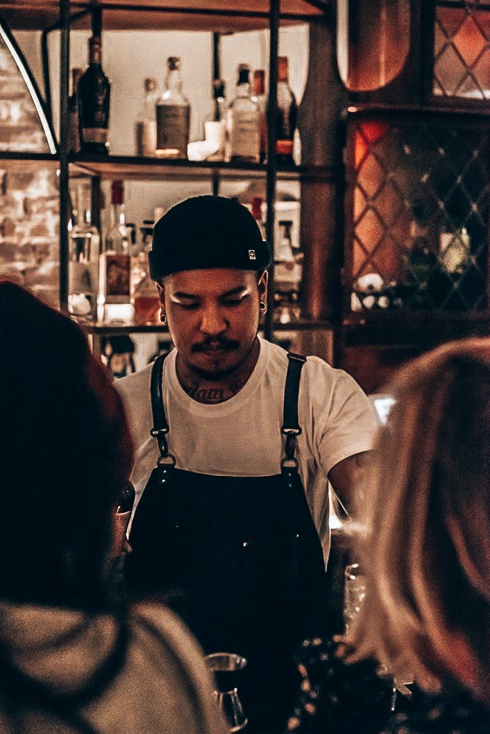 Daryl Lieuw-On, bartender en founder The Rumah, Alles over gin.