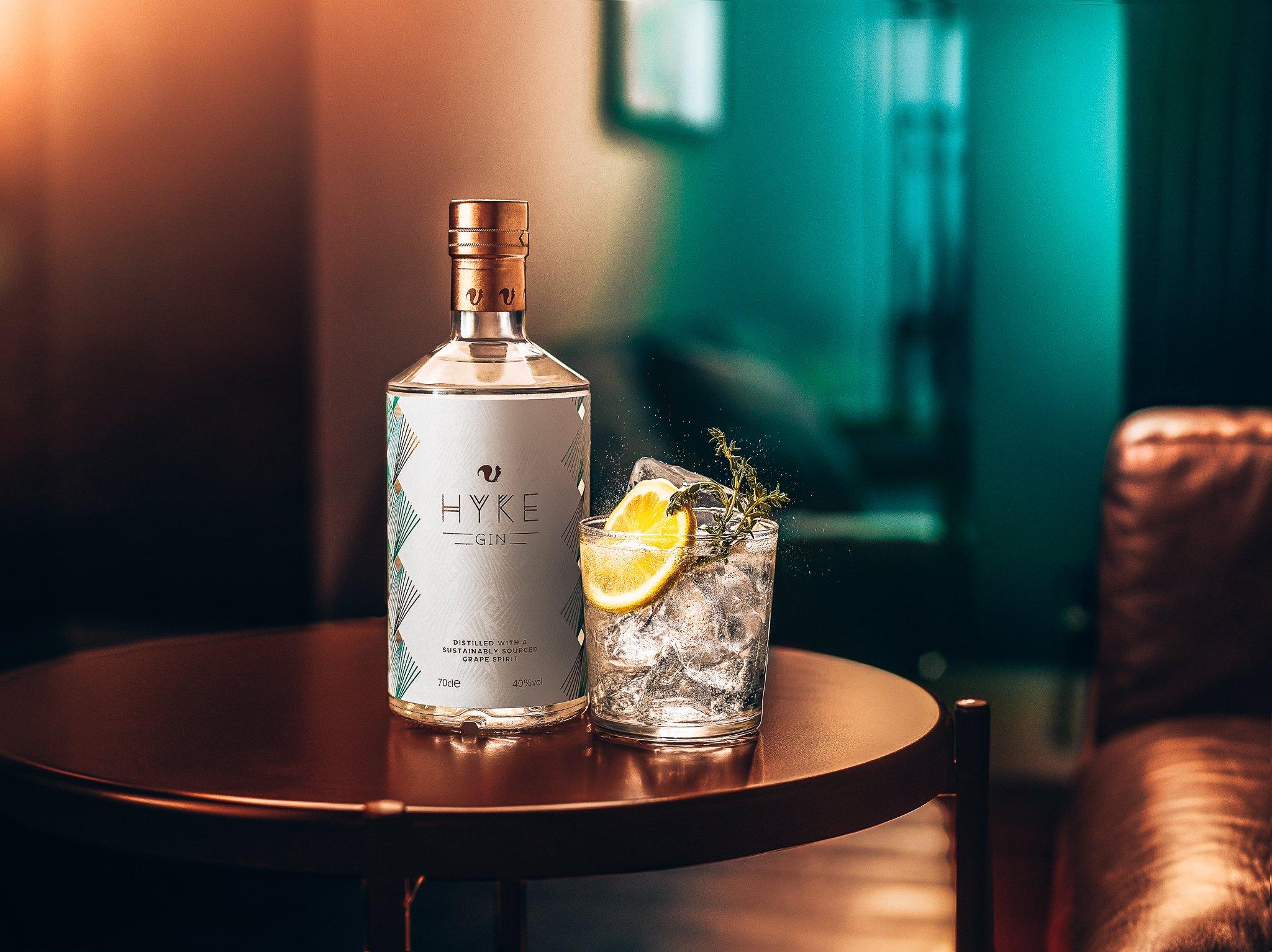 HYKE G&T, Gin-tonic met HYKE Gin, Alles over gin.