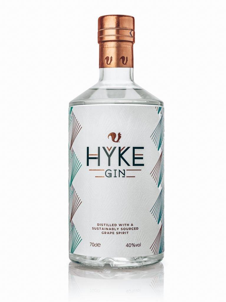 HYKE Gin, bottle shot, Alles over gin.