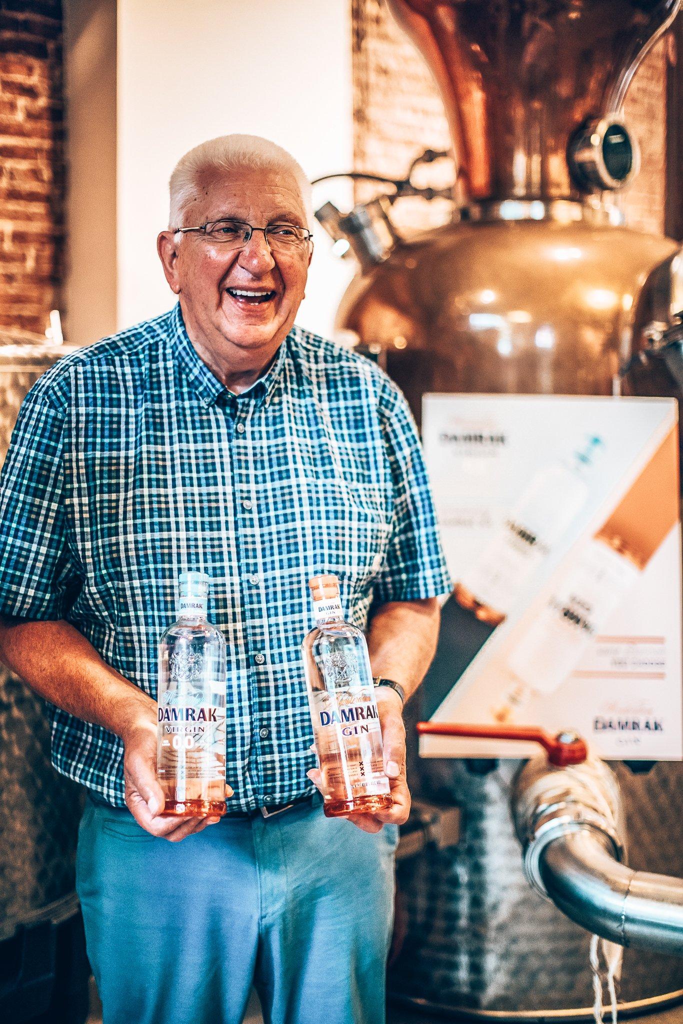 Master Distiller Piet van Leijnhorst, Lucas Bols, Alles over gin.