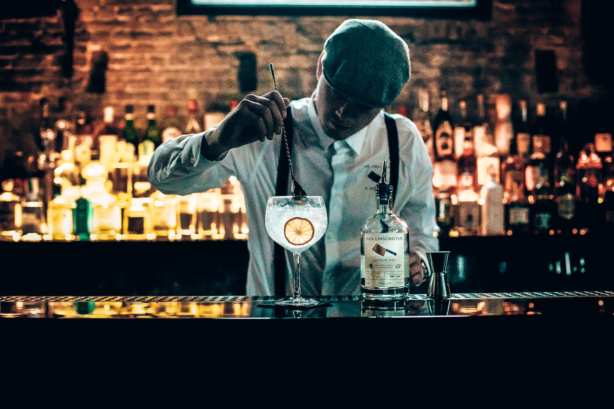 Slagers Gin met co-founder Mitchel, gin-tonic maken, Alles over gin.
