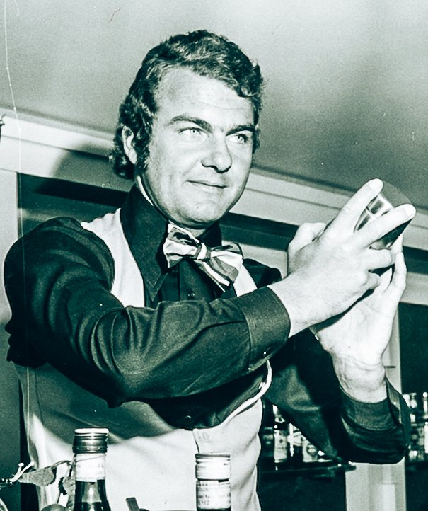 Foto van de vader van Ian Bartos, A bartender's story, Alles over gin.