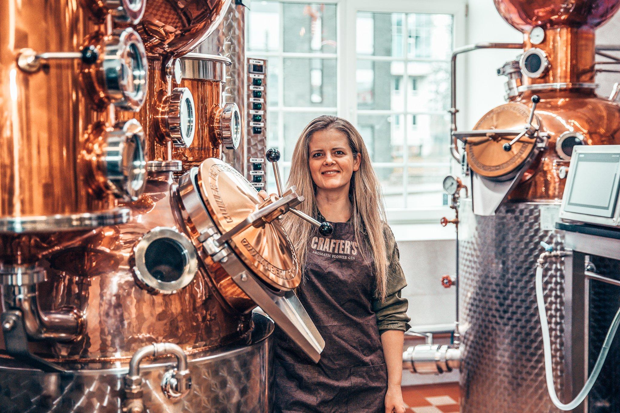Hanna Kaur, Master Distiller Crafter's Gin, Estland, Alles over gin.