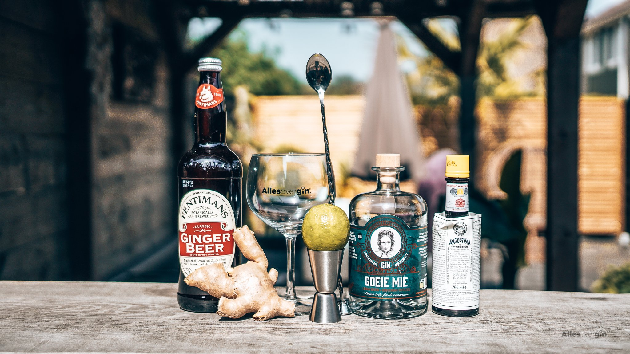 Recept gin cocktail, Mie Gin Mule, Goeie Mie Gin, Alles over gin.