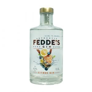 Fedde's Gin,Citrus en fris, Alles over gin.