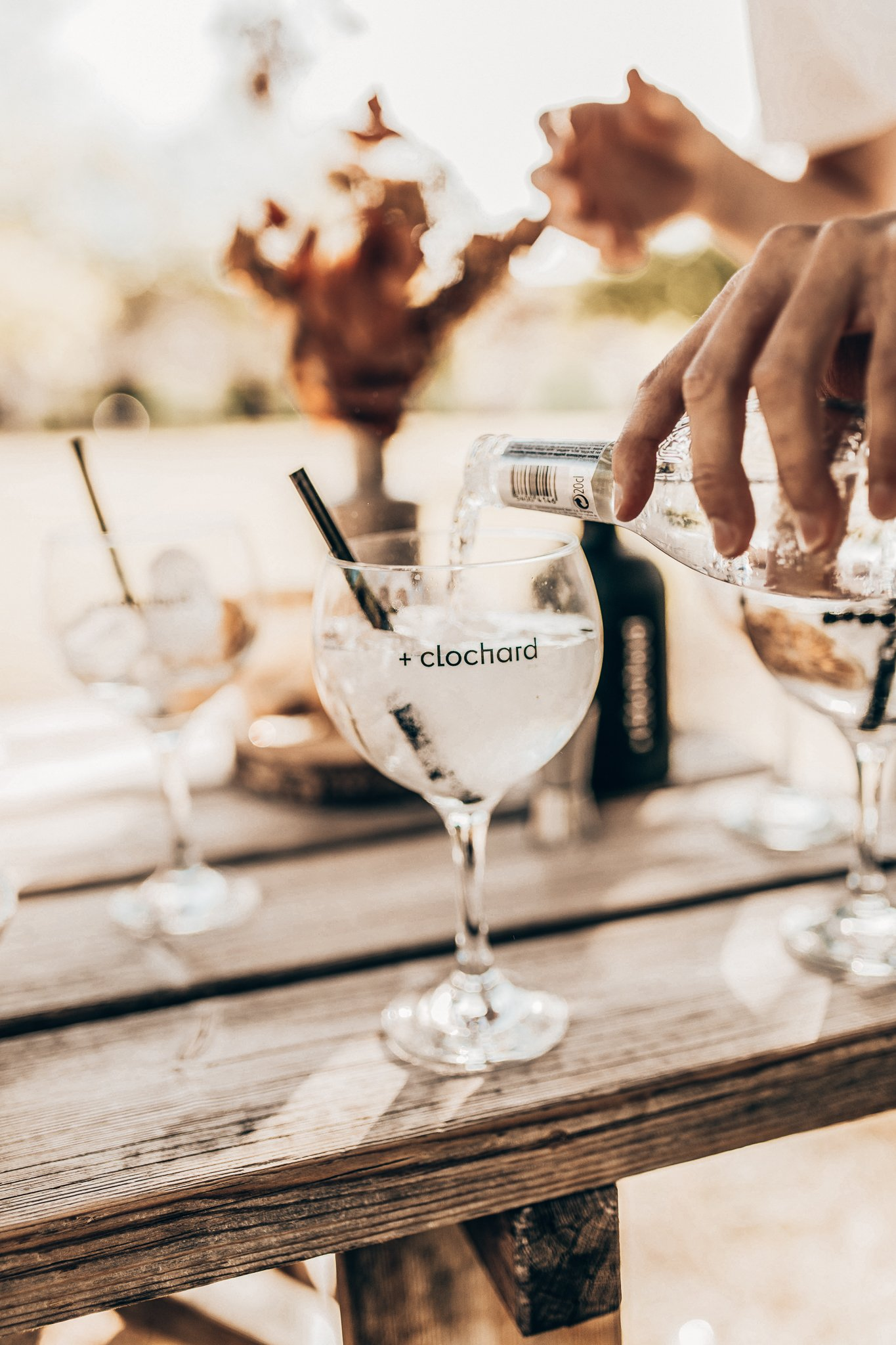 Perfect serve, gin-tonic, Clochard Gin, Alles over gin.